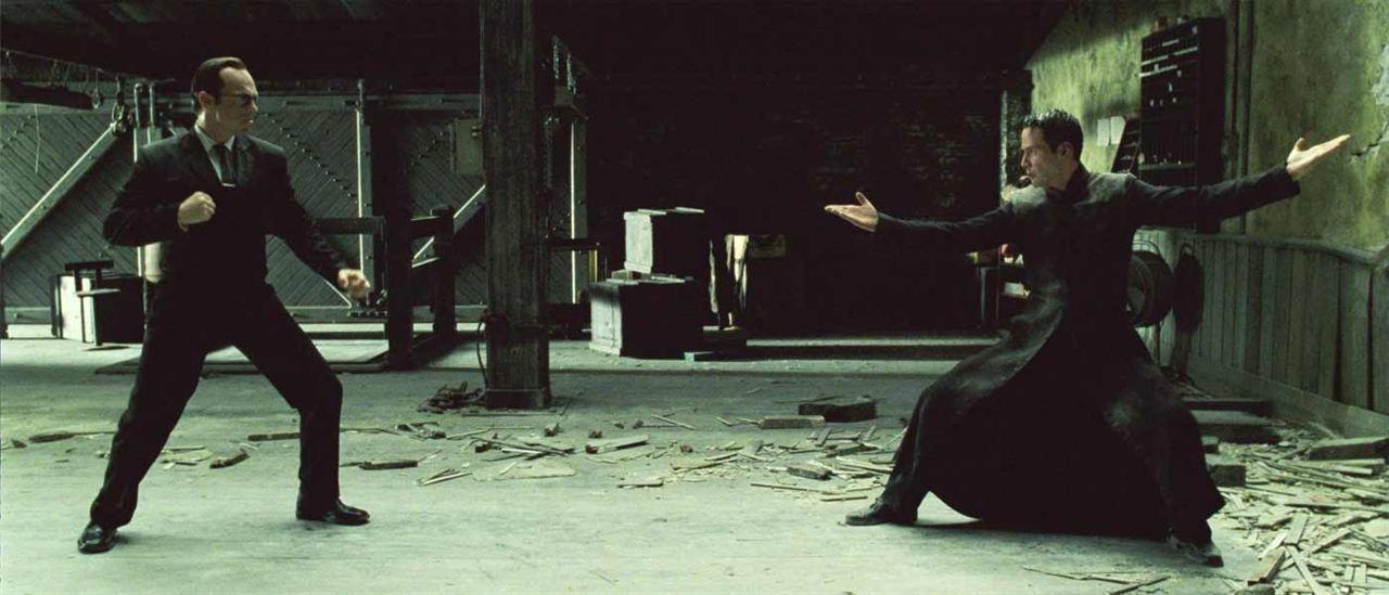 Matrix Revolutions : Foto Hugo Weaving, Keanu Reeves