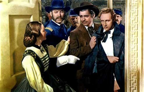 ...E o Vento Levou : Foto Clark Gable, Leslie Howard, Victor Fleming, Ward Bond