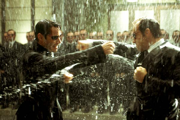 Matrix Revolutions : Foto Hugo Weaving, Keanu Reeves
