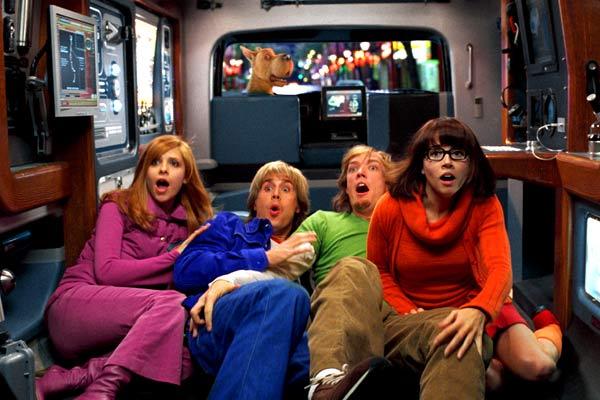 Scooby-Doo 2 - Monstros à Solta : Foto Freddie Prinze Jr., Linda Cardellini, Matthew Lillard, Sarah Michelle Gellar