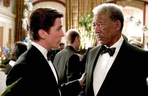 Batman Begins : Foto Christian Bale, Morgan Freeman