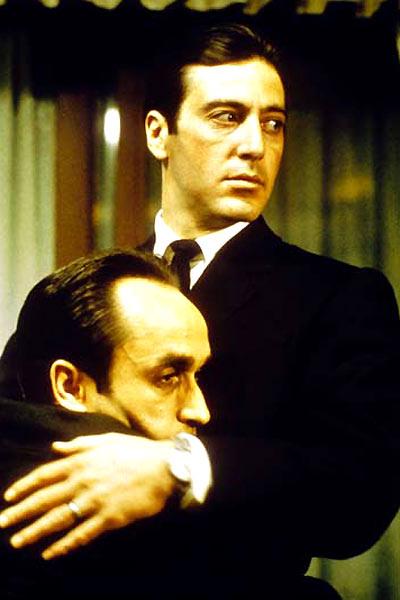 O Poderoso Chefão 2 : foto Al Pacino, Francis Ford Coppola, John Cazale