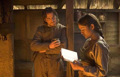 O Novo Mundo : Foto Christian Bale, Q'Orianka Kilcher