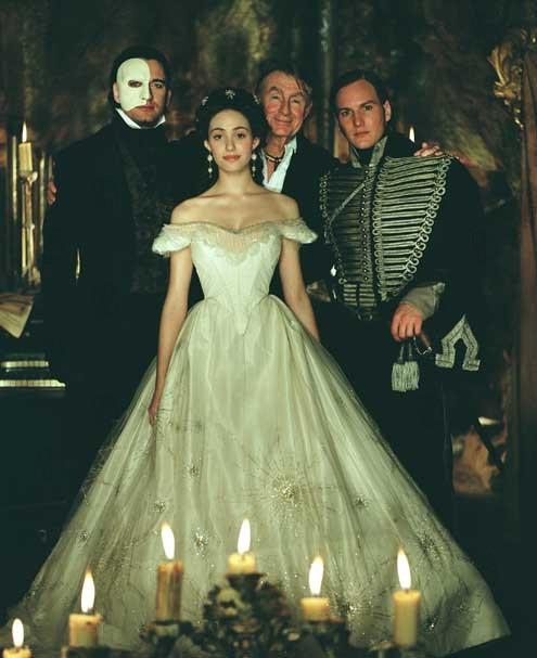 O Fantasma da Ópera : Foto Emmy Rossum, Gerard Butler, Patrick Wilson