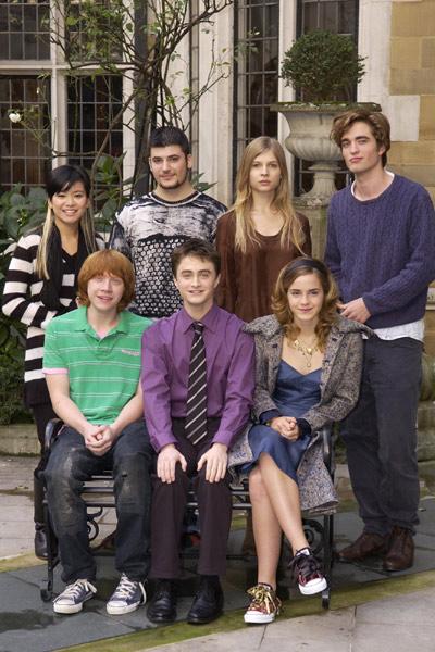 Harry Potter e o Cálice de Fogo : Foto Clémence Poésy, Daniel Radcliffe, Emma Watson, Katie Leung, Robert Pattinson