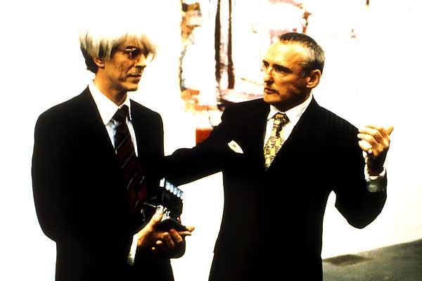 Basquiat - Traços de uma Vida : Foto David Bowie, Dennis Hopper