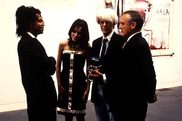Basquiat - Traços de uma Vida : Foto Claire Forlani, David Bowie, Dennis Hopper, Jeffrey Wright, Parker Posey