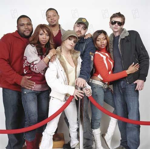 Ritmo de um Sonho : Foto Anthony Anderson, Craig Brewer, DJ Qualls, Elise Neal, Taraji P. Henson