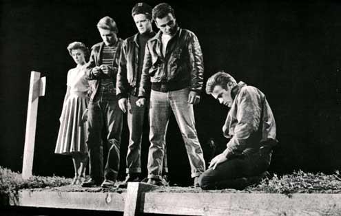 Juventude Transviada : Foto Dennis Hopper, James Dean, Natalie Wood, Nicholas Ray