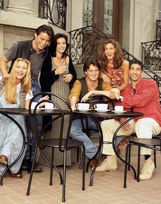 Friends : Foto Courteney Cox, David Schwimmer, Jennifer Aniston, Lisa Kudrow, Matt LeBlanc