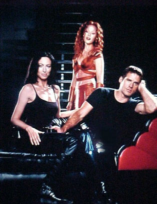 Farscape : Foto Ben Browder, Claudia Black, Raelee Hill