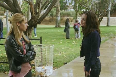 Buffy, a Caça-Vampiros : Foto Eliza Dushku, Sarah Michelle Gellar