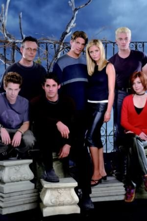 Buffy, a Caça-Vampiros : Foto Alyson Hannigan, Anthony Head, James Marsters, Marc Blucas, Nicholas Brendon