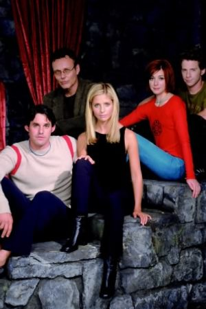 Buffy, a Caça-Vampiros : Foto Alyson Hannigan, Anthony Head, Nicholas Brendon, Sarah Michelle Gellar, Seth Green