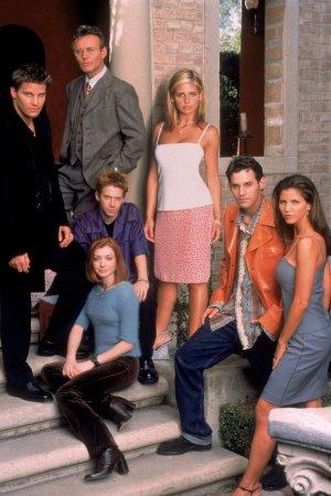 Buffy, a Caça-Vampiros : Foto Alyson Hannigan, Anthony Head, Charisma Carpenter, David Boreanaz, Nicholas Brendon
