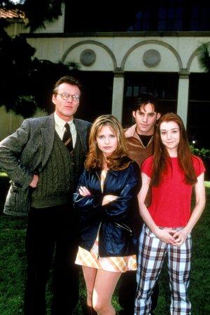 Buffy, a Caça-Vampiros : Foto Alyson Hannigan, Anthony Head, Nicholas Brendon, Sarah Michelle Gellar