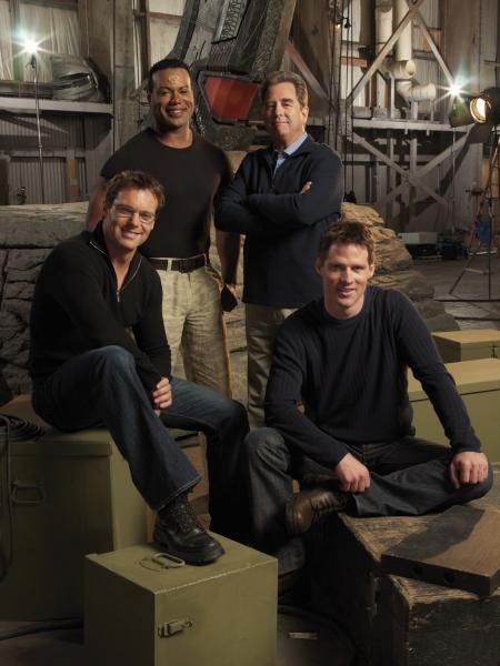 Stargate SG-1 : Foto Beau Bridges, Ben Browder, Christopher Judge, Michael Shanks (I)