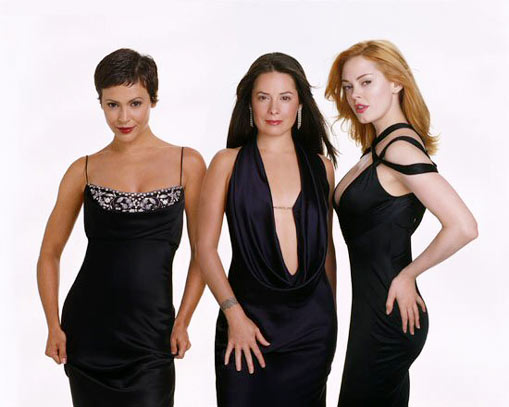 Charmed : Foto Alyssa Milano, Holly Marie Combs, Rose McGowan