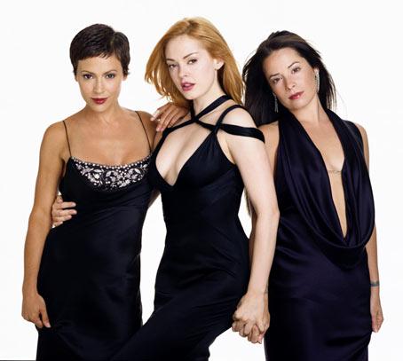 Charmed : Foto Alyssa Milano, Holly Marie Combs, Rose McGowan