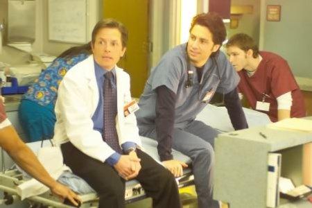 Scrubs : Foto Michael J. Fox, Zach Braff