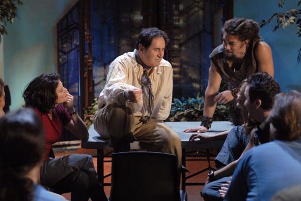 Stargate: Atlantis : Foto Jason Momoa, Richard Kind, Torri Higginson