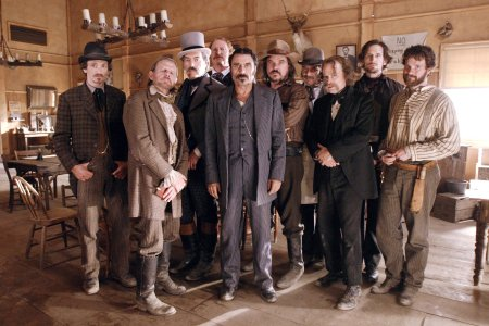 Deadwood : Foto Brad Dourif, Ian McShane, John Hawkes, Powers Boothe, Ray McKinnon