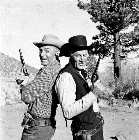 Pistoleiros do Entardecer : Foto Joel McCrea, Randolph Scott