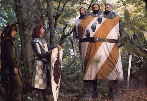 Monty Python em Busca do Cálice Sagrado : Foto Terry Jones