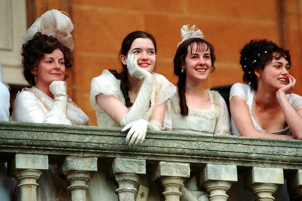 Orgulho e Preconceito : Foto Brenda Blethyn, Jena Malone, Keira Knightley, Talulah Riley