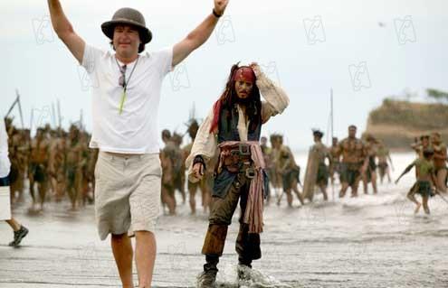 Piratas do Caribe - O Baú da Morte : Foto Gore Verbinski, Johnny Depp