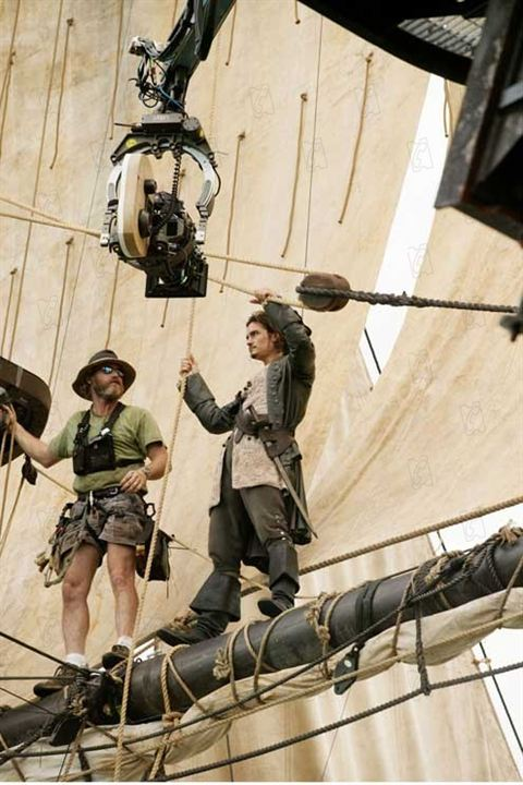 Piratas do Caribe - O Baú da Morte : Foto Gore Verbinski, Orlando Bloom
