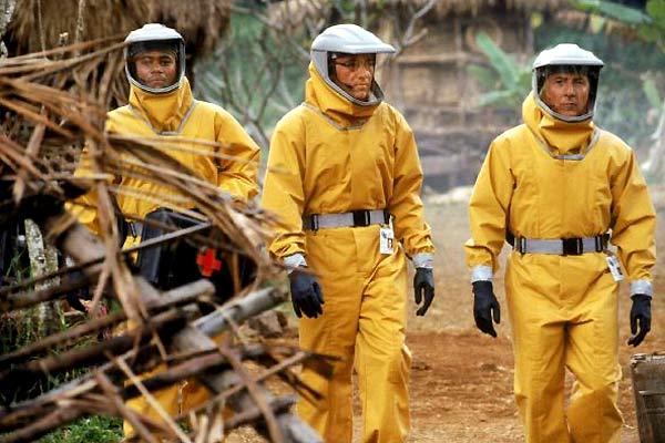 Epidemia : Foto Cuba Gooding Jr., Dustin Hoffman, Kevin Spacey, Wolfgang Petersen
