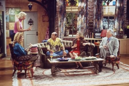 Dharma & Greg : Foto Alan Rachins, Jenna Elfman, Mitchell Ryan, Susan Sullivan