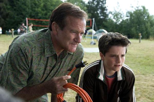 Férias no Trailer : Foto Josh Hutcherson, Robin Williams