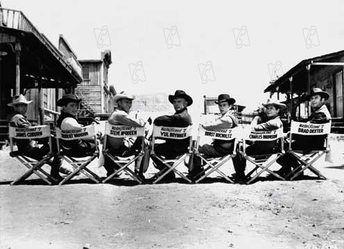 Sete Homens e Um Destino : Foto Brad Dexter, Charles Bronson, Eli Wallach, James Coburn, John Sturges