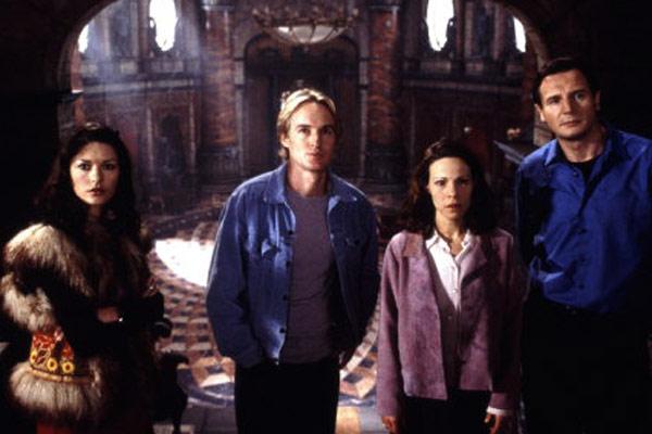 A Casa Amaldiçoada : Foto Catherine Zeta-Jones, Jan de Bont, Liam Neeson, Lili Taylor, Owen Wilson