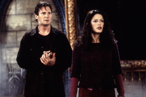 A Casa Amaldiçoada : Foto Catherine Zeta-Jones, Jan de Bont, Liam Neeson