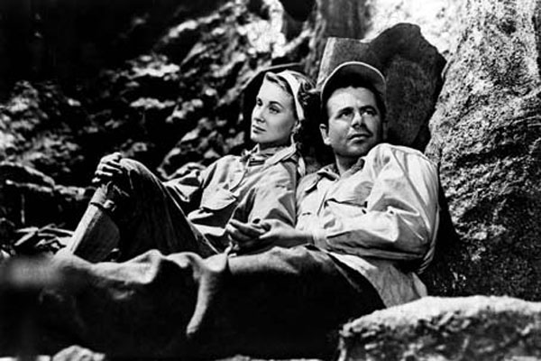 The White tower : Photo Alida Valli, Glenn Ford, Ted Tetzlaff