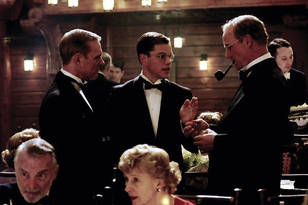 O Bom Pastor : Foto Keir Dullea, Matt Damon, Robert De Niro, William Hurt