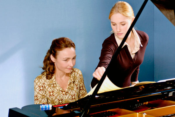 Ao Lado da Pianista : Foto Catherine Frot, Déborah François, Denis Dercourt