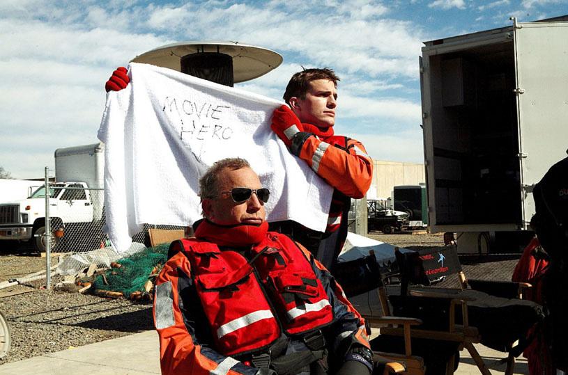 Anjos da Vida - Mais Bravos que o Mar : Foto Ashton Kutcher, Kevin Costner