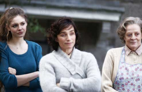 De Bico Calado: Kristin Scott Thomas, Tamsin Egerton, Niall Johnson, Maggie Smith