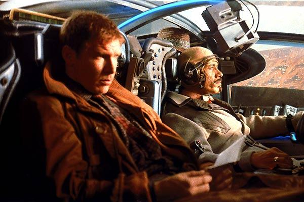 Blade Runner, o Caçador de Andróides : Foto Edward James Olmos, Harrison Ford