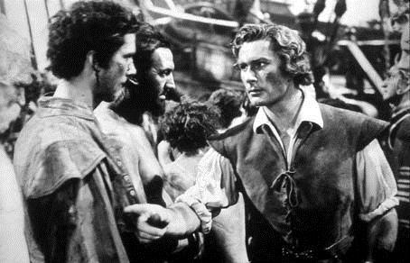 Foto Errol Flynn, Michael Curtiz