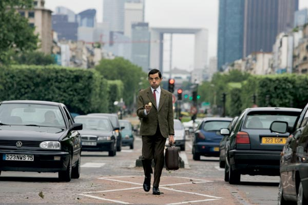 As Férias de Mr. Bean : Foto Rowan Atkinson, Steve Bendelack