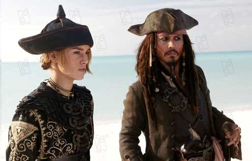 Piratas do Caribe - No Fim do Mundo : Foto Johnny Depp, Keira Knightley