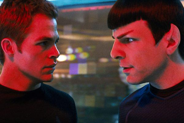 Star Trek : Foto Chris Pine, Zachary Quinto