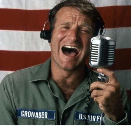 Bom Dia, Vietnã : Foto Robin Williams