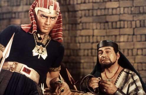 Os Dez Mandamentos : Foto Cecil B. DeMille, Edward G. Robinson, Yul Brynner