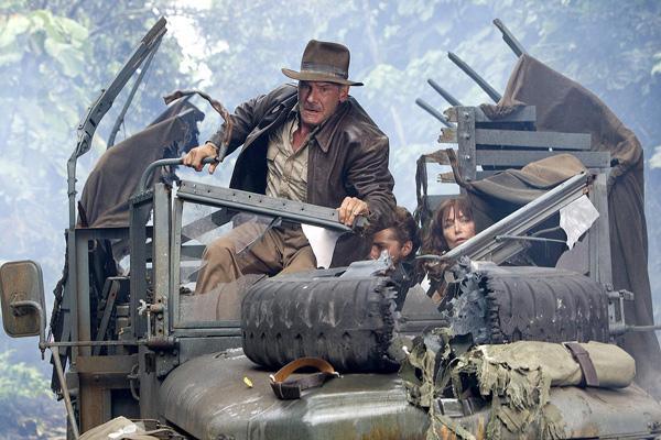 Indiana Jones e o Reino da Caveira de Cristal: Harrison Ford, Karen Allen, Shia LaBeouf
